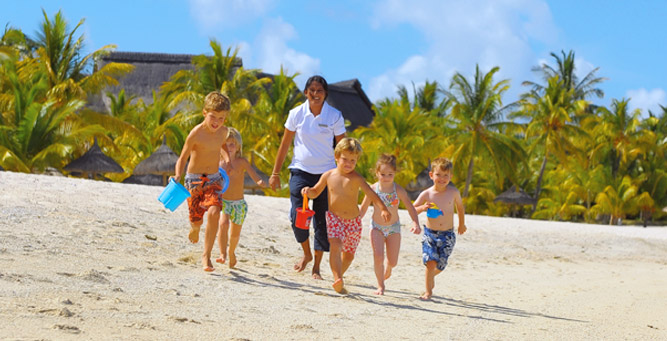 Mauritius is perfect for small children; there are dedicated kids clubs at most of the resorts.