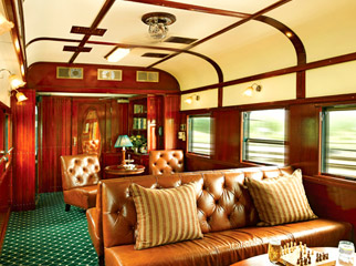 For a luxurious family holiday, why not try Rovos Rail? It's ideal for the older generation.