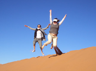 Our Recent Travels - Namibia: dune jumping at Sossusvlei