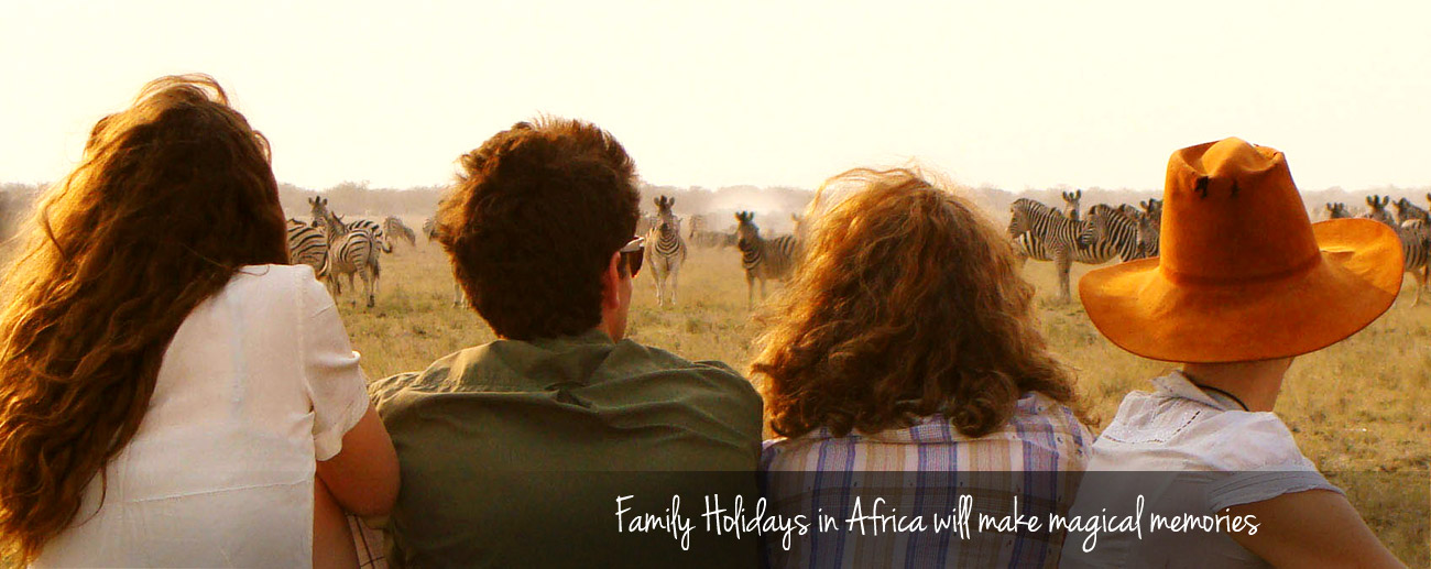 Top 5 Family Destinations - Family holidays in Africa will make magical memories