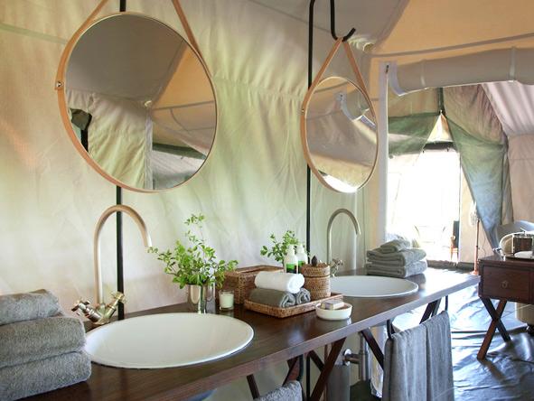 Machaba Camp - En suite bathroom