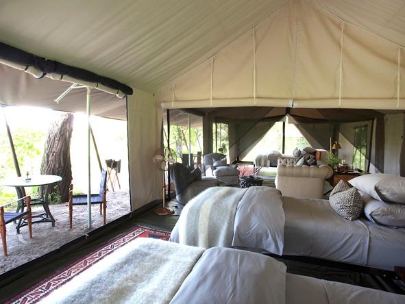 Machaba Camp - Family tents