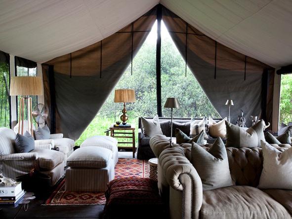 Machaba Camp - Comfortable lounge