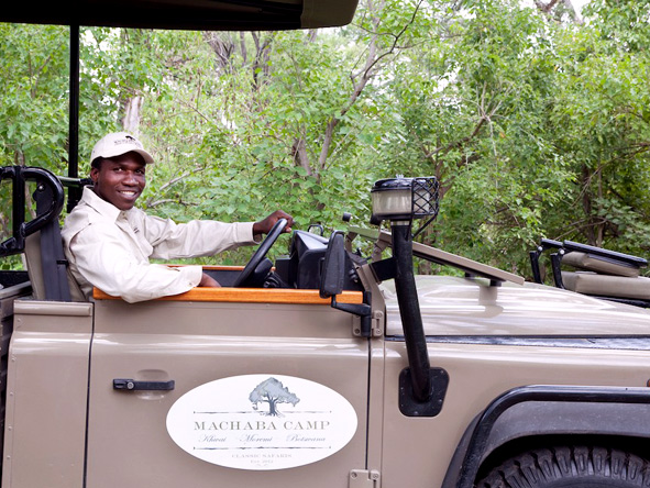 Machaba Camp - Knowledgeable guides