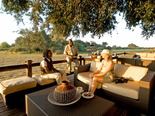Exclusive Botswana Luxury Safari - Afternoon tea
