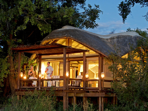 Exclusive Botswana Luxury Safari - Private decks