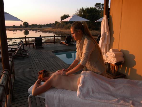 Exclusive Botswana Luxury Safari - Spa treatments
