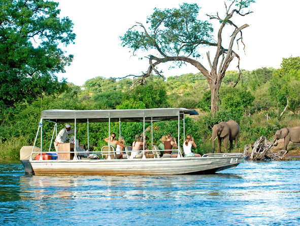 Exclusive Botswana Luxury Safari - Chobe River safari