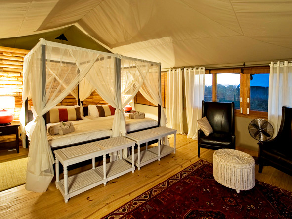 Distinctive Zambezi & Kafue - Spacious tents