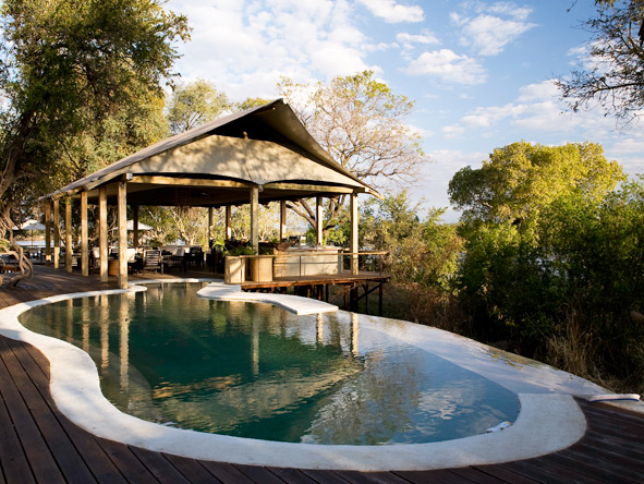Distinctive Zambezi & Kafue - Infinity pool