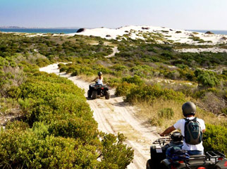 A Garden Route Road Trip - quadbiking to the beach