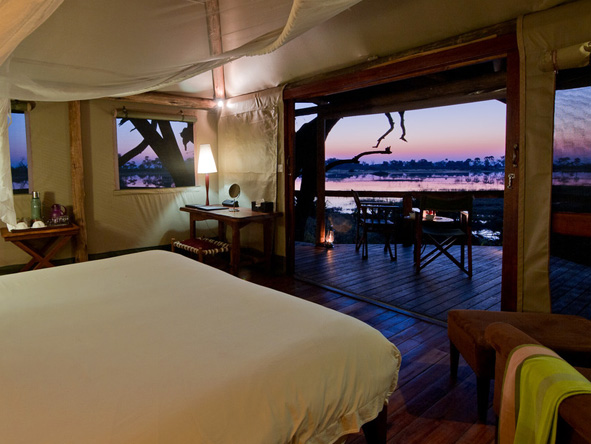 Luxury Kalahari Desert Expedition - Delta views