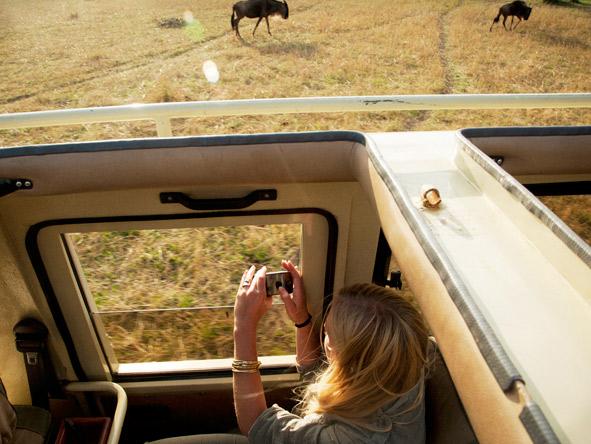 Serengeti Safari Camp - Pop-up game vehicles