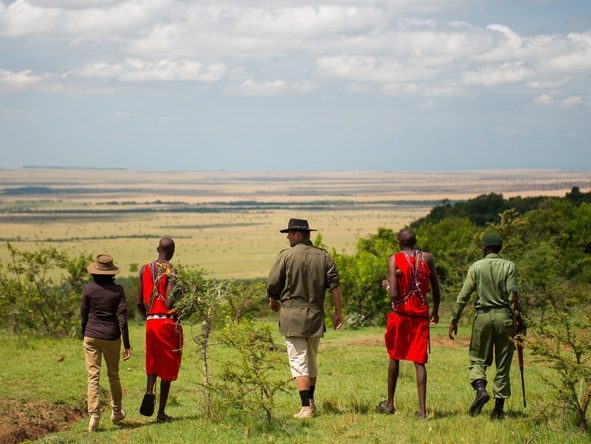 Kilima Mara Camp - Walking safaris