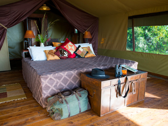 Kilima Mara Camp - Comfortable Classic Tents