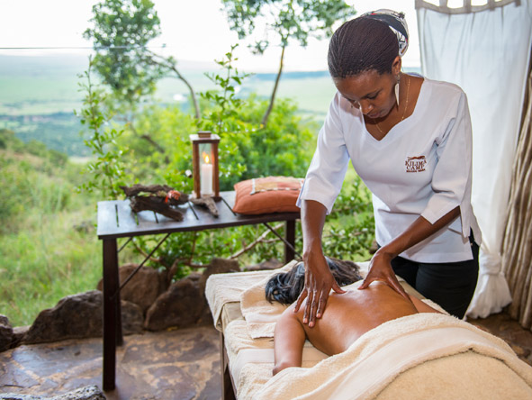 Kilima Mara Camp - Spa treatments
