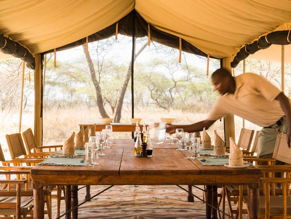 Tanzania Family Adventure - Family-style dining