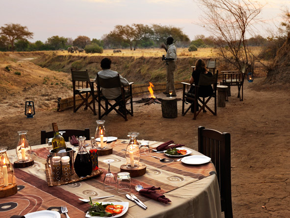 Chikoko Tree Camp - Delicious meals