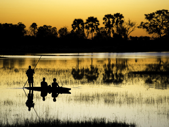 Botswana Summer Encounter - Mokoro safaris