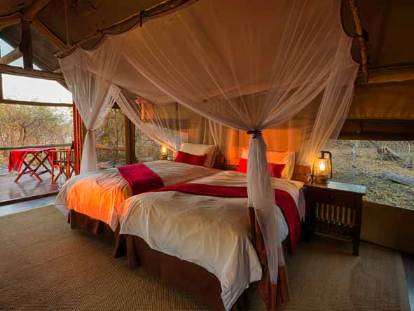 Botswana Summer Encounter - Spacious suites