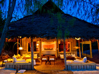 Mnemba Island Lodge - a romantic, rustic retreat