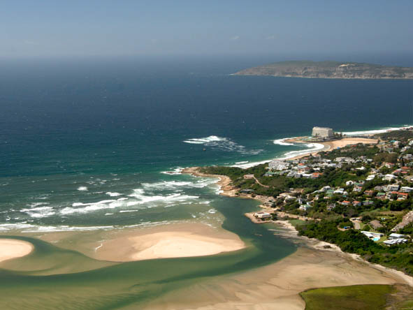 Plettenberg Bay also has a fantastic lagoon connecting the mainland to the beach - ideal for swimming.