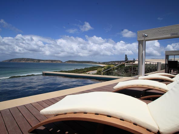 There are plenty of luxurious accommodation options in Plett; make sure you stay somewhere with a beach view!