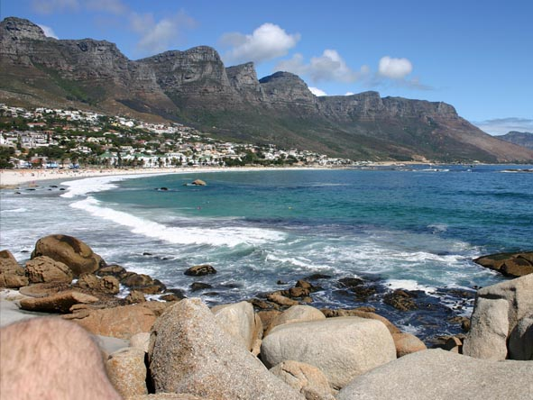 Enjoy spectacular views of the Twelve Apostles Mountain Range while in Camps Bay.