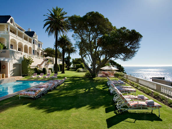 Luxurious boutique hotel Ellerman House is one of Cape Town's most exclusive coastal accommodations.