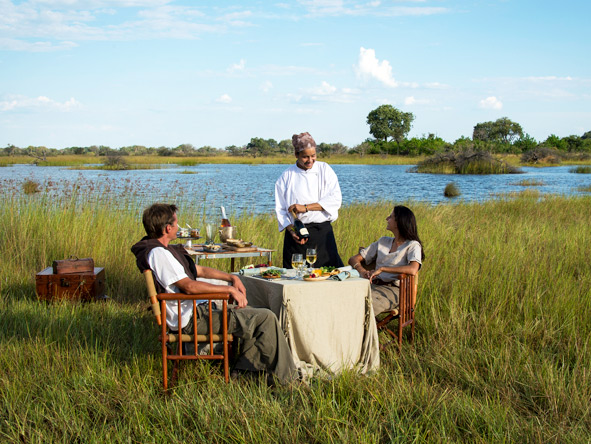 Vumbura Plains - Private dining