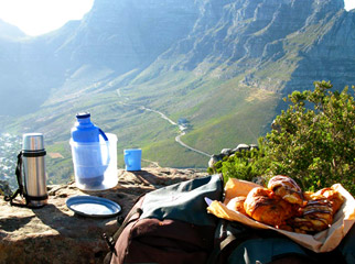 How to Hike Africa's Iconic Mountains - picnic at the top
