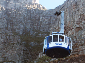 How to Hike Africa's Iconic Mountains - the cable car is an easy way to the top