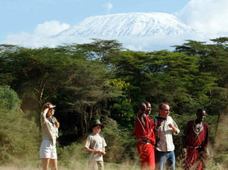 How to Hike Africa's Iconic Mountains - admiring the mountain