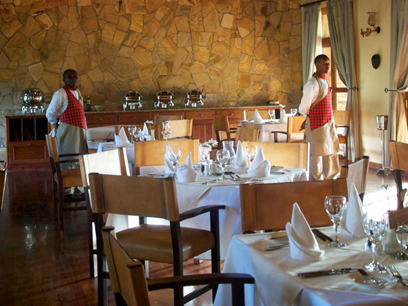 Exploreans Ngorongoro Lodge - Dining Room