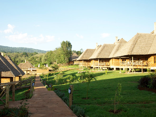 Exploreans Ngorongoro Lodge - Small, intimate lodge