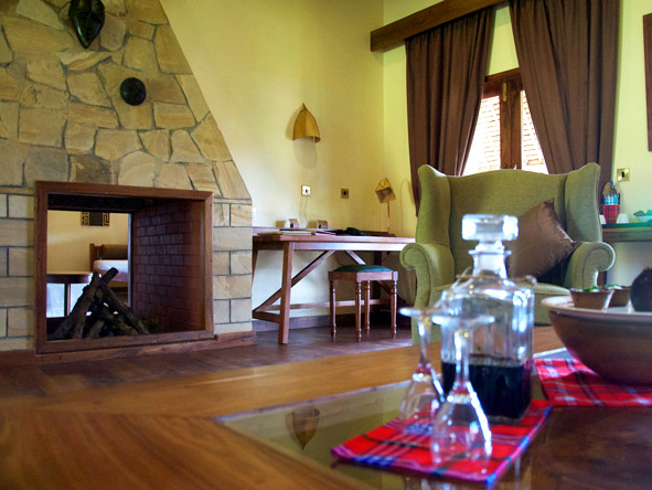 Exploreans Ngorongoro Lodge - Private lounges