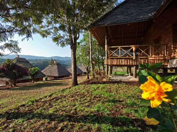 Exploreans Ngorongoro Lodge - Stunning views