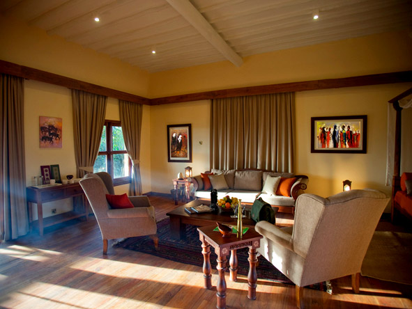 Exploreans Ngorongoro Lodge - Homely interiors