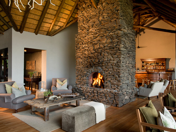 Lion Sands Narina Lodge - Comfortable lounge