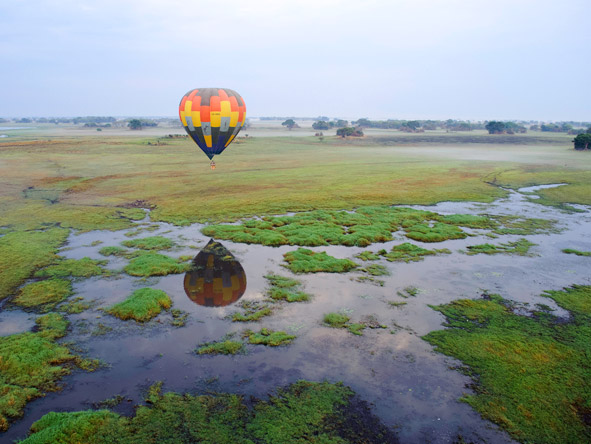 Shumba Bush Camp - Complimentary hot air balloon rides