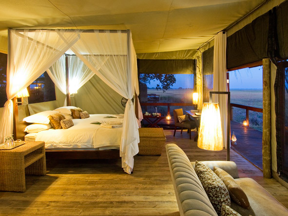 Shumba Bush Camp - Spacious suites