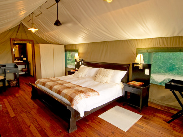 Stanleys Camp - Comfortable tented suites