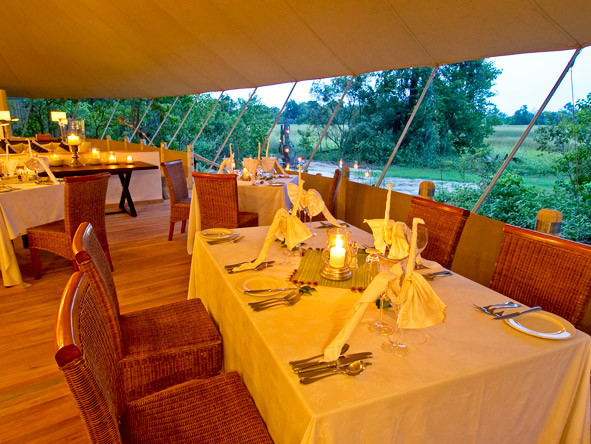 Stanleys Camp - Private dining