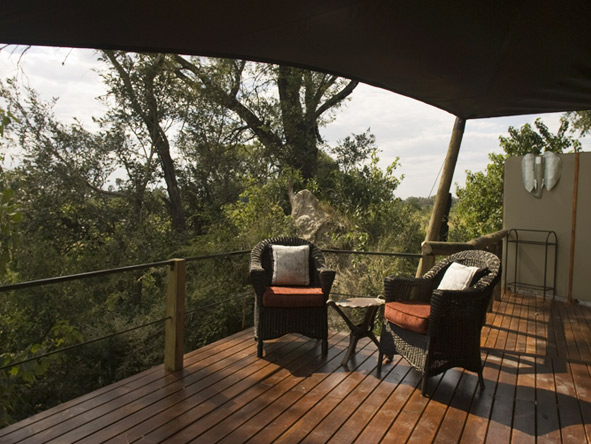 Chitabe Camp - Okavango Delta views