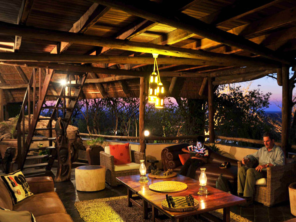 Muchenje Safari Lodge - Relaxing lounges