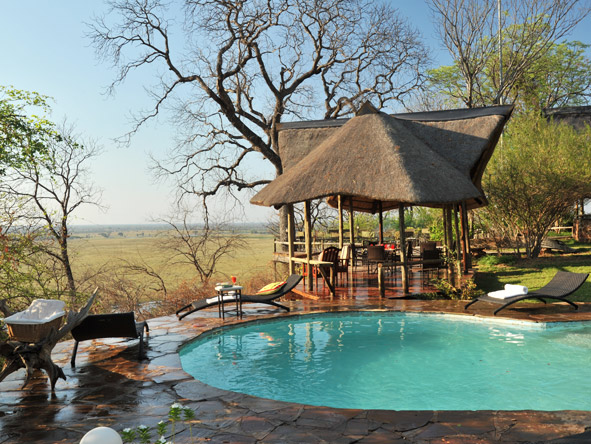 Muchenje Safari Lodge - Swimming pool