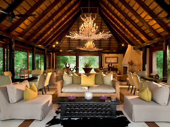 Lion Sands River Lodge - African touches