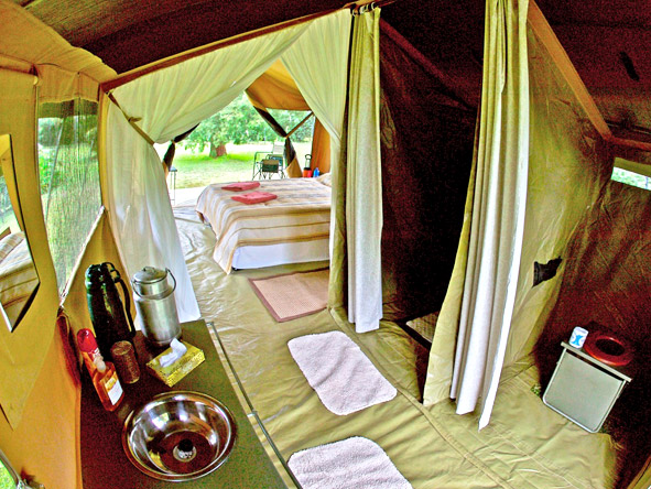 Porini Bush Camp - En suite tents