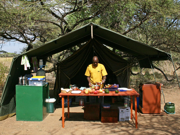 Porini Bush Camp - 3-course dinners