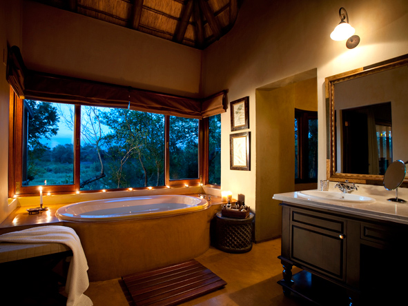 Lion Sands Tinga Lodge - En suite facilities